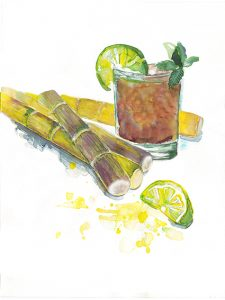 Rum Kubanisch